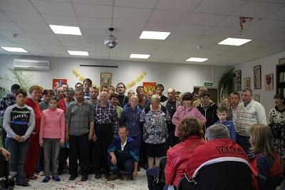 Пасхальный праздник в Черкизовском психоневрологическом интернате 2012 года