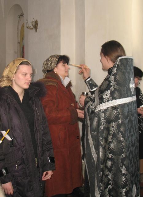 Соборование в Покровском храме